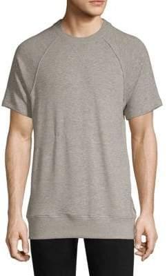 2xist Terry Short-Sleeve Sweatshirt