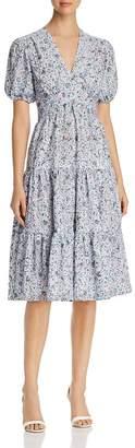 Tory Burch Printed Lace Dress