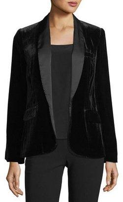 Joie Mehira B Tailored Velvet Blazer