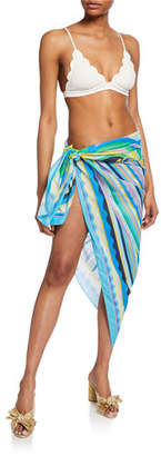 Emilio Pucci Printed Long Coverup Pareo