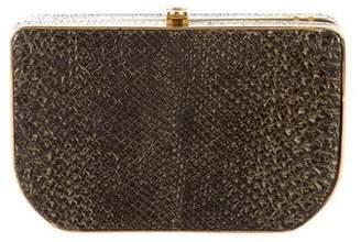 Fendi Python Mini Rush Crossbody Bag