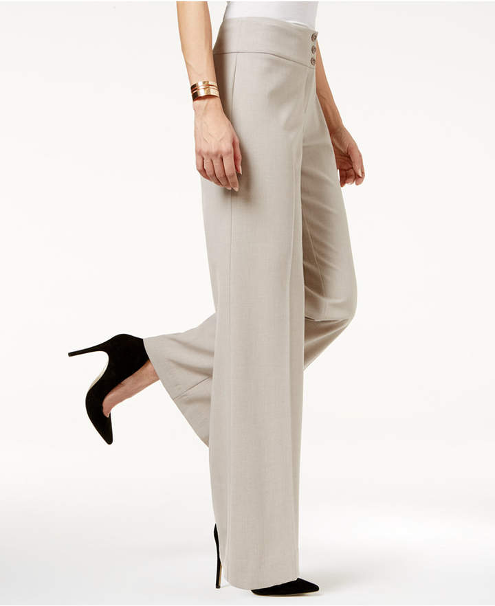 Style & Co Stretch Wide-Leg Pants, Only at Macy's 6