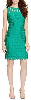 Lauren Ralph Lauren Mod Geometric Lace Dress $169 thestylecure.com