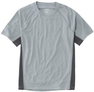 L.L. Bean L.L.Bean Men's Ridge Runner T-Shirt, Short-Sleeve Colorblock
