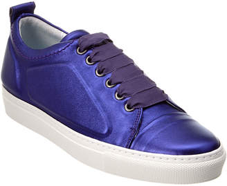 Lanvin Metallic Leather Sneaker