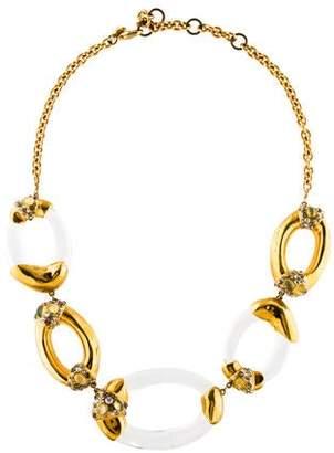 Alexis Bittar Lucite Link Necklace