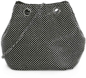 La Regale Rhinestone Mesh Crossbody Bag - Women's
