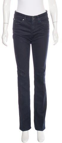 Stella McCartneyStella McCartney Mid-Rise Straight-Leg Jeans