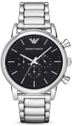 Emporio Armani Chronograph 3-Link Bracelet Watch, 46mm