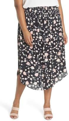Sejour Smocked Waist Skirt