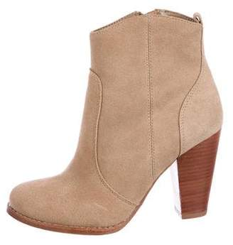 Joie Suede Ankle Booties