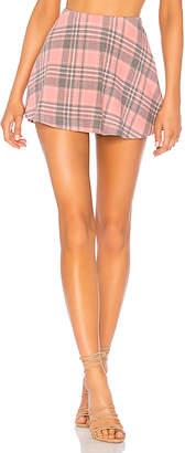 Wildfox Couture Sweetheart Plaid Villa Skirt