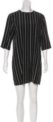 Equipment Striped Silk Dress