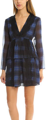 Thakoon Lace Striped Dress