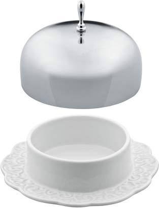 Alessi Dressed Porcelain Butter Dish