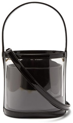 badd85116586 STAUD Bisset Pvc And Patent Leather Bucket Bag - Womens - Black