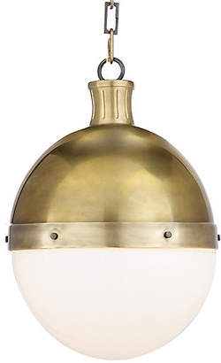 Visual Comfort & Co. Hicks Pendant - Hand-Rubbed Brass