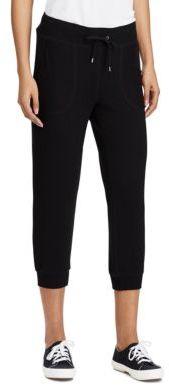 Lauren Ralph Lauren Cropped Skinny Sweatpants
