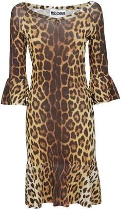 Moschino Leopard Print Dress