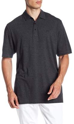 Travis Mathew Striped Polo