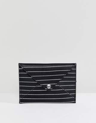 Pull&Bear Envelope Purse in Stripe