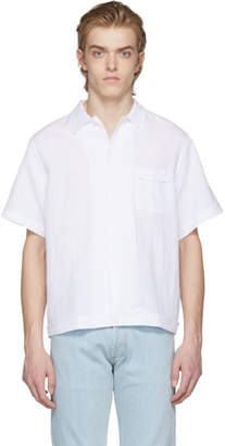 Editions M.R White Linen Shirt