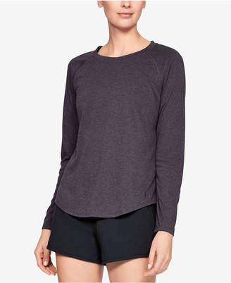 Under Armour Whisperlight Cut-Out Back T-Shirt