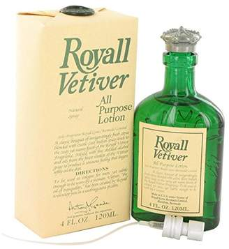 Royall Fragrances Royall Vetiver FOR MEN by 4.0 oz All Purpose Lotion Spray