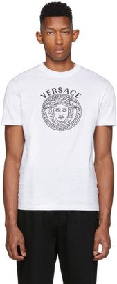 Versace White Medusa Head T-Shirt