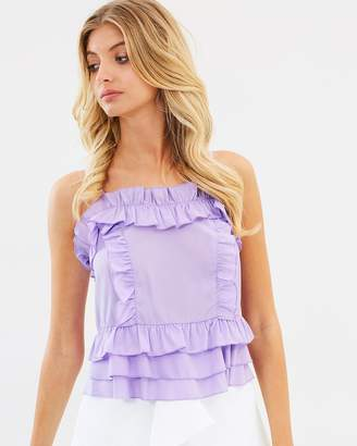 Atmos & Here ICONIC EXCLUSIVE - Tammy Ruffle Cami