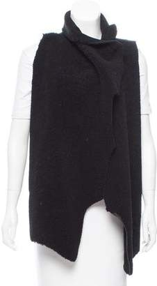 Veda High-Low Shearling Vest