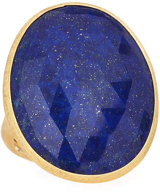 Marco Bicego 18k Large Lapis Ring, Size 7