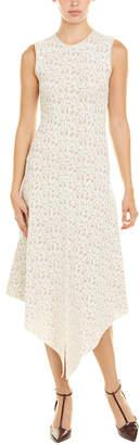 Akris Silk-Blend A-Line Dress
