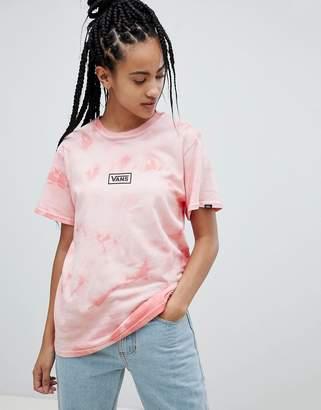 Vans Pink Tie Dye T-Shirt
