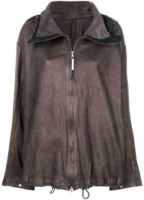 Isaac Sellam Experience front zip oversized jacket