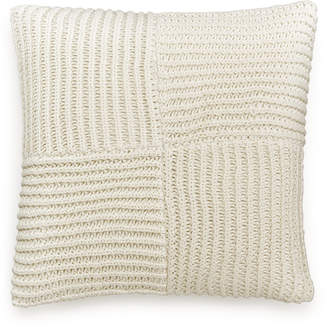 """Hotel Collection Waffle Weave 20"""" Square Decorative Pillow, Created for Macy's"""