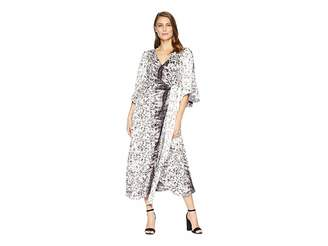 Kenneth Cole New York Drapy Maxi Dress