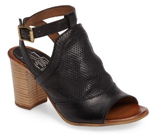 Women's Miz Mooz Shiloh Block Heel Sandal $149.95 thestylecure.com