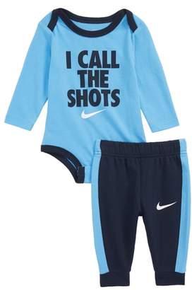Nike I Call the Shots Bodysuit & Sweatpants Set