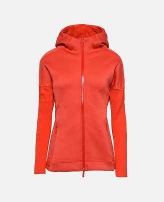 adidas by Stella McCartney Stella McCartney red z.n.e. hoodie