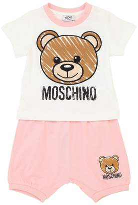 Moschino Cotton Jersey T-Shirt & Shorts