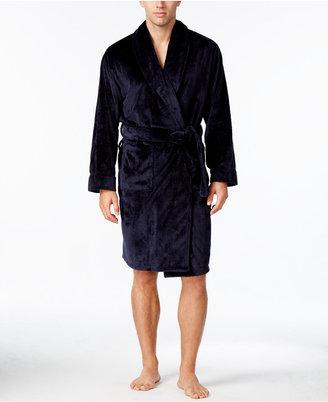 Club Room Men's Plush Robe $70 thestylecure.com