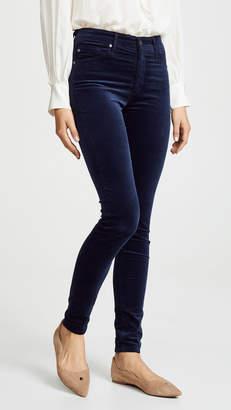 AG Jeans The Velvet Farrah Skinny Jeans