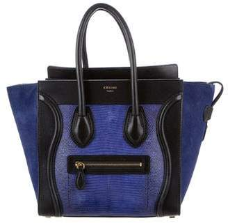 Celine Lizard Micro Luggage