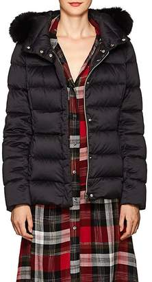 Herno Women's Fox-Fur-Trimmed Down-Quilted Jacket