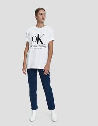 Calvin Klein Jeans Est. 1978 Modernist Logo OK Tee
