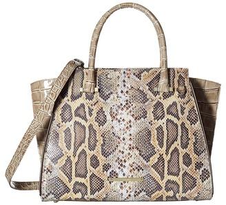 Brahmin Priscilla Satchel $435 thestylecure.com