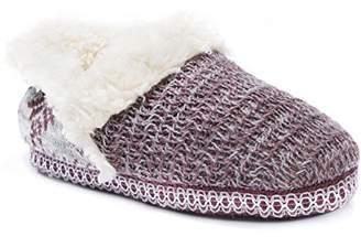 Muk Luks Women's Magadalena Slippers-Purple