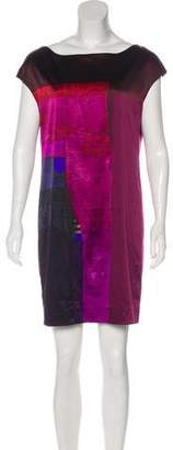 Vince Silk Printed Dress w/ Tags