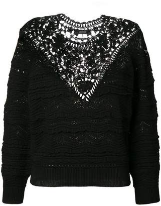Isabel Marant embroidery sweater